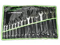 Набор ключей рожково-накидных 14 шт 10-32 мм Alloid НК-2061-14 сумка (наб.)