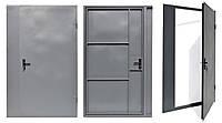 Двери внутренние двухсторонние с утеплителем (с декоративной накладкой) 2.05*0.96/0.86*1.5мм