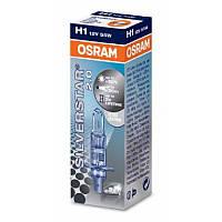 Галогенка H1 OSRAM 12V 55W +60% 64150SV2 Silver Star 2.0