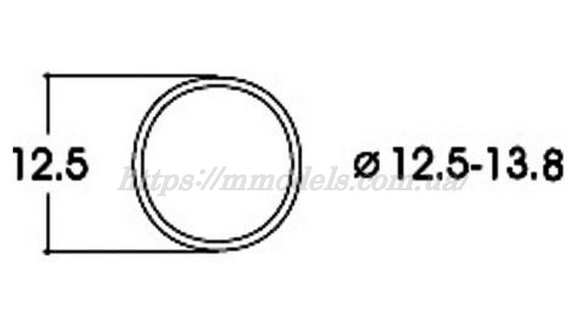 Roco 40066 тяговые шины для локомотивов 12.5-13.8 / 1:87 H0