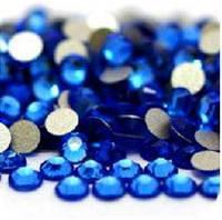 Стразы Sapphire SS4 холодной фиксации. Цена за 144 шт