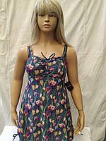 1Купальник- платье Танкини   CARMELO 0946 Блеск серый(есть 52 54 56 58 60  размеры)