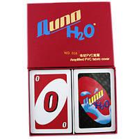 Настольная карточная игра Uno Уно, пластик, Premium