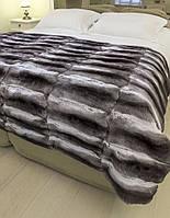 Одеяло из  натурального меха  шиншиллы