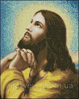 Молитва Иисуса. С-42. Схема для полной вышивки бисером.