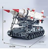 Конструктор Ракетная система SA-4 Ganef 1469 деталей
