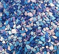 Цветной щебень Море