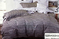 Комплект постельного белья полуторного размера BAYUN Gray