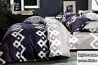 Комплект постельного белья полуторного размера BAYUN - Фиолет