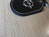 Брелок d на ключи Opel продолговатый Опель коже заменитель, фото 2