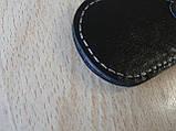 Брелок d на ключи Opel продолговатый Опель коже заменитель, фото 4