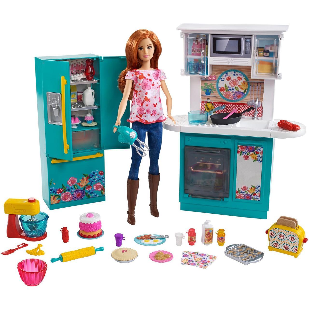 Игровой набор кухня Ри Драммонд и кукла Барби