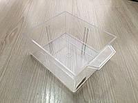 Пластиковая ёмкость для любых целей 10*11 см, глубина 5 см. Б/у. Не новые