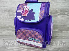"""Школьный ортопедический рюкзак для девочек, фирма Tiger """"Сова"""", S-образные лямки, 1 отдел"""