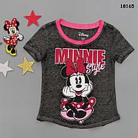 Футболка Minnie Mouse для девочки. 4-5;  6-7 лет, фото 1
