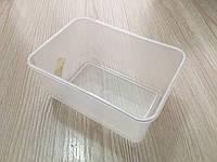 Пластиковая ёмкость для любых целей 11*8 см, глубина 6 см. Б/у. Не новые
