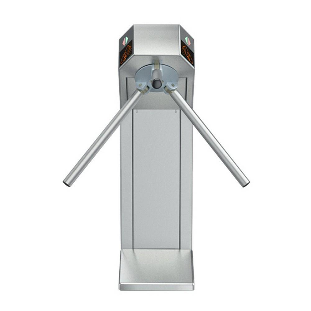 Турникет трипод Lot Expert, нержавеющая сталь, электроприводной, штанга алюминий, Mifare-id + Mifare-id