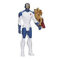 Огромный Железный Человек с лучевой пушкой - Beam Blaster Iron Man, Titan Hero Series, Hasbro
