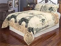 Комплект постельного белья полуторка Бязь Голд