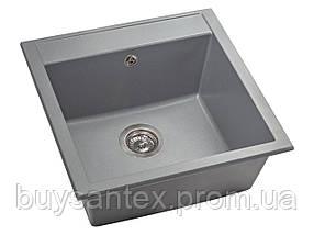 Кухонная мойка Miraggio Bodrum 510 цвет серый
