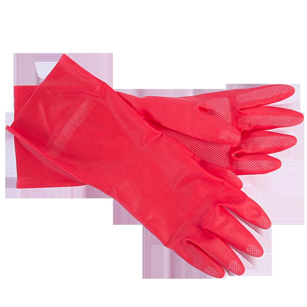 Перчатки бытовые хозяйственные Portwest (универсальные) красный, S