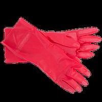 Перчатки бытовые хозяйственные Portwest (универсальные) красный, S, фото 1