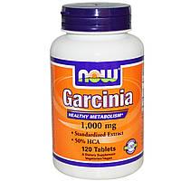 Гарциния камбоджийская Now Foods 1000 мг 120 таблеток