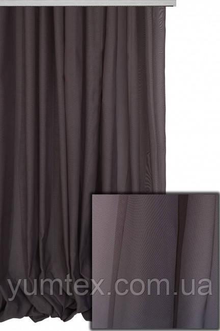 Тюль сан-тропе, цвет коричневый