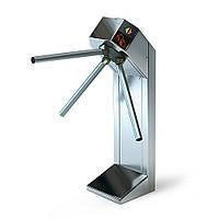 Турникет трипод Lot Expert, полированная сталь, электромеханический, штанга алюминий, Mifare-id + Mifare-id, фото 1