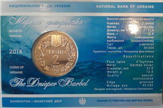 Марена дніпровська в сувенірній упаковці монета 2 гривні, фото 3