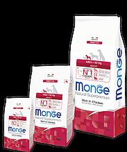 Monge MINI ADULT CHICKEN & RICE сухой корм для собак мелких пород КУРИЦА и РИС 3кг