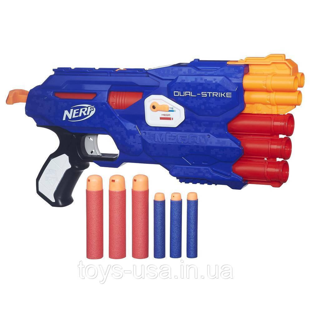 Пистолет Nerf Нерф Dual Strike Hasbro