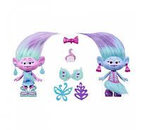 DreamWorks Коллекционный Игрушечный набор Троллей Модные близнецы Trolls Satin & Chenille's Style