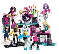Мега блокс Рок группа  Mega Bloks Monster High Glam Ghoul Band Building Kit