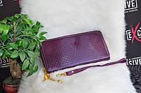 Кошелек в стиле Луи Виттон лаковый, фиолетовый, фото 1
