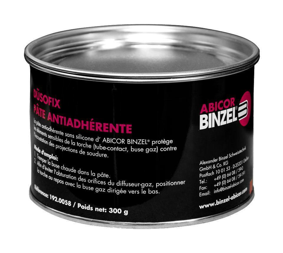 Паста Abicor Binzel DUSOFIX против налипания сварочных брызг, 300г