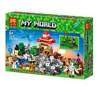 """Конструктор """"My World Minecraft: """"Разграбленная сокровищница"""", 200 деталей  33218"""