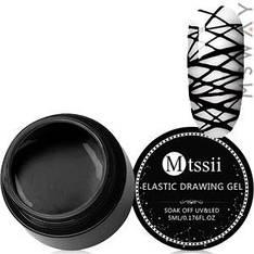 Mtssii Гель-паутинка в баночке 5ml Тон 03 черная эмаль