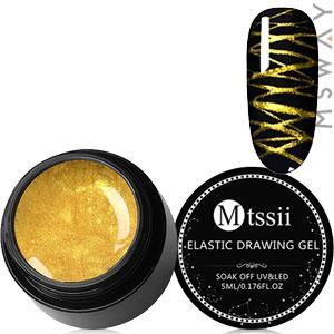 Mtssii Гель-паутинка в баночке 5ml Тон 05 золото эмаль