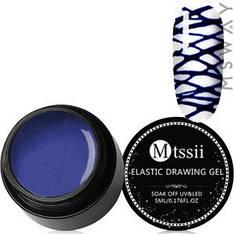 Mtssii Гель-паутинка в баночке 5ml Тон 06 синяя эмаль