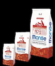 Monge PUPPY JUNIOR LAMB, RICE & POTATOES сухой корм для щенков ЯГНЕНОК & РИС и КАРТОФЕЛЬ 15 кг