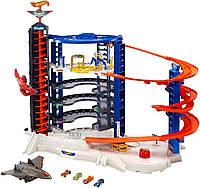 Трек Hot Wheels Супермагистральный гараж Super Ultimate Garage Playset