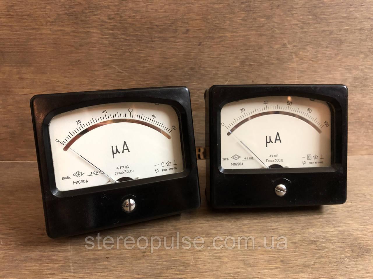 Измерительная головка М1690А  100 мкА