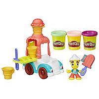 Плей-Дох ігровий набір пластиліну Місто вантажівка морозива Play-Doh Town Ice Cream Truck