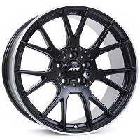 ATS Crosslight R19 W8.5 PCD5x114,3 ET50 DIA75.1 Racing black lip polished