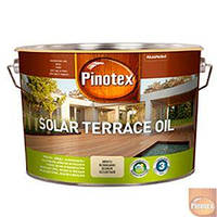 Pinotex Solar Terrace Oil - масло на водной основе для террас, мебели и фасадов 9.3л.