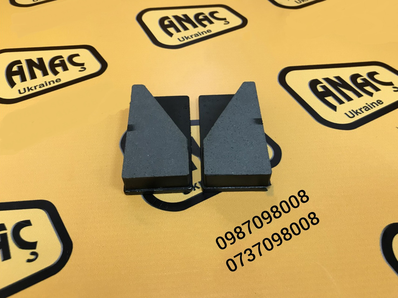 Комплект тормозных колодок на JCB 3CX, 4СХ,  номер : 15/920160, 452/02700