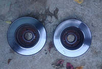 Передний тормозной диск Шевроле Круз Б/У 09-, фото 1