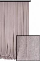 Тюль феникс однотонная, цвет нежно-розовый