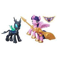Набор My Little Pony Принцесса Твайлайт против Чейнжелинга серии Стражи Guardians of Harmony Princess Twilight Sparkle v. Changeling